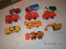 Lot of 10 Tomica Vehicles