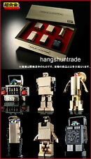 Bandai Chogokin Gold Scope Time Denji Mechanic I.C. Lightan Limited Boxset