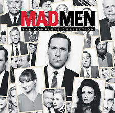 Mad Men Complete Series 1-7 Limited Edition Gift Set DVD Box Set Free Shipping