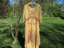 Nataya, NEW, vintage inspired,Downton Abbey, special occasion amber dress*LOVELY