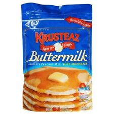 Krusteaz Buttermilk Complete Pancake Mix Just Add Water 4.53kg Resealable Pouch