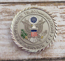 Diplomatic Telecommunications Service ITC Cairo, Egypt Challenge Coin