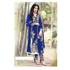 Georgette Suit Women Clothing Semi Stitched Bollywood Indian Traditional Cloths