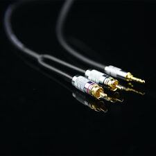 0.75M 2.5FT Monster Prolink Standard 100 Audio Cable Stereo 3.5mm to 2RCA MP3 CD