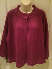 EAST STUNNING 60% MERINO WOOL CARDIGAN SZ 18 EXCELLENT CONDITION