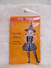 New for Sales - Spooky Village  - Spider Witch (Dress & Hat ) kids size : S/M