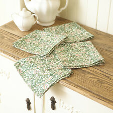 Con Licencia William Morris Sweet Briar Pack De 4 Algodón Floral Servilletas