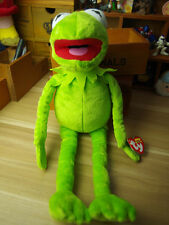 "Disney Kermit Sesame Street Muppets Kermit the Frog Toy Plush Doll 13"" TY"