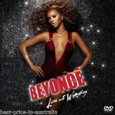 BEYONCE: Live At Wembley DVD+CD NEW 2DISC Crazy In Love~Naughty Girl ALL REGIONS