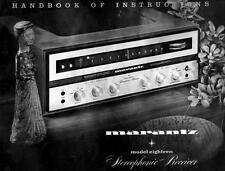 Marantz Model 18 User Owner Manual Guide Twenty Two For Stereo Receiver