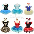 Girls Kids Minnie Mouse Mermaid Ballet Xmas Fancy Dress Up Party Costume SZ 1-10