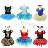 Toddler Girls Kids Minnie Mouse Ballet Tutu Fancy Dress Party Costume Age 1-10Y