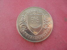 1 PORTSMOUTH F.A. CUP CENTENARY 1872-1972  SILVER COLOURED MEDAL TOKEN COIN
