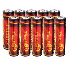 TrustFire 10x PCB Protect Board 18650 3.7V 3000mAh Rechargeable Battery P7F2