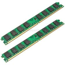 4GB 2x2GB DDR2 800 PC2-6400 240 Pin DIMM Memory RAM For AMD Motherboard Computer