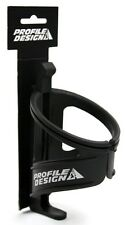 Profile Design Nylon Kage Bicycle Water Bottle Cage with retention band Black