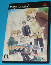 Orange Honey - Boku Wa Kimi Ni Koishiteru - Sony Playstation 2 PS2 Japan - JAP