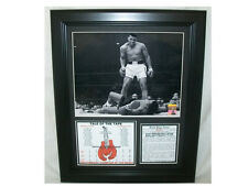 Muhammad Ali 1964 Cassius Clay 8X10 PHOTO FRAMED KO'S LISTON FOR TITLE