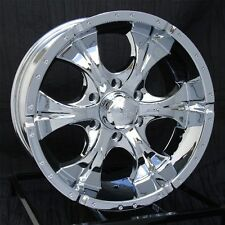 17 inch Chrome Wheels/Rims Chevy GMC Sierra 6 Lug 1500 Truck Avalanche Helo Maxx