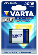 Varta Professional Lithium 6V 2CR5 Battery for Canon or Nikon + More #1895