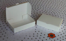 10 BARGAIN **White Single slice **Wedding CAKE favour / Party boxes 100x60x30mm