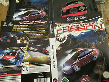 Need for Speed Carbono en OVP + cuaderno Game Cube FSK 12