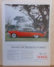 1956 magazine ad for Dodge - Success Car of the year, Discover the Difference