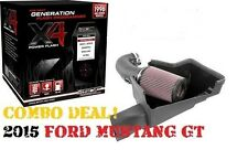 JLT & SCT 2015 2016 FORD MUSTANG GT JLT COLD AIR INTAKE AND SCT TUNER FREE SHIP