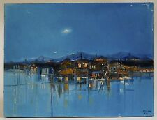 Augusto Jenner Mid Century Modernist Painting