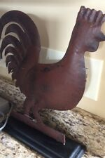 Free Standing Rooster Dark Bronze Figure Kitchen Home Decor French Country New