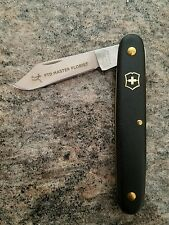 Victorinox Swiss Army Knife Day Packer Master Florist FTD Engraved! Black Gold