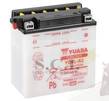 HONDA CB77 305 SUPERHAWK CA77 DREAM C77 YB9L-A2 YUASA BATTERY Replaces 12N9-3A