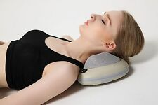 FIVE STAR FS8862 SHIATSU KNEADING NECK & BACK MASSAGE CUSHION WITH HEAT (Beige)