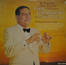 """GUY LOMBARDO - THE SWEETEST MUSIC THIS SIDE OF HEAVEN  12""""  LP (P382)"""