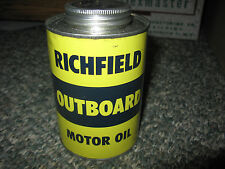 NICE Vintage Richfield Outboard Motor Oil Can