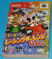 Mickey's Speedway Usa Racing Challenge - Nintendo 64 N64 - JAP Japan