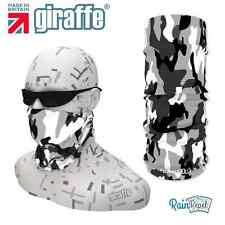 G214 Snow camouflage Headwear Neckwarmer Snood Scarf Bandana Headband Tube