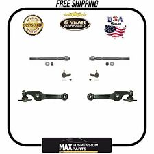 87-91 Camry Lower Control Arm With Ball Joint Tie Rods 6Pc KIT 5 YEARS WARRANTY