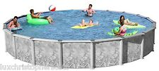 "Swim Play Round 24' x 74"" DEEP Above Ground Swimming Pool Complete Package!!!"