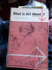 NEWMAN NEAME WHAT IS ART ABOUT? MICHAEL MIDDLETON 1960 EDUCATIONAL BOOKLET