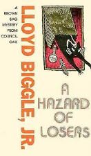 A Hazard of Losers (Brown Bag Mystery Series)-ExLibrary