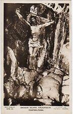 Davaar Island Crucifixion Painting Inside Cave, Nr CAMPBELTOWN, Argyllshire RP