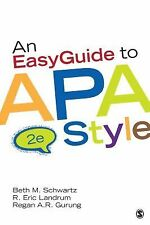 An Easy Guide to APA Style by Beth M. Schwartz, Regan A. R. Gurung and R....