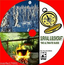 ULTIMATE SURVIVAL + BUSHCRAFT INSTRUCTION ON CD 5 INTENSIVE TRAINING GUIDES NEW