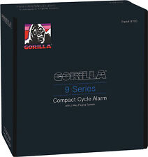 ** GORILLA MOTORCYCLE COMPACT CYCLE ALARM W/PAGER 9 SERIES W/ 2 WAY PAGING