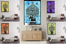 10 PC Wholesale Lot Tapestry Indian Wall Hanging Elephant Tree of Life Yoga Mat