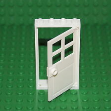 LEGO White 1 X 4 X 6  Frame and Door ( 60596/60623 ). X 1. NEW.