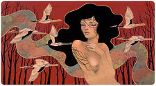 """When it Begins Giclee Art Print by Audrey Kawasaki Signed & Numbered 30"""" x 16.5"""""""