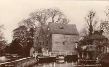 Old Water Mill Godmanchester unused RP pc Valentines