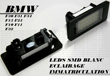 LEDS LED SMD ECLAIRAGE PLAQUE IMMATRICULATION BMW X3 E83 F25 LCI 2003-14 3.0 2.0